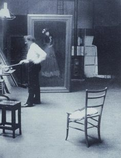 American painter James Abbott McNeill Whistler (1834-1903)