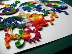 ★ Quilling for Beginners   How to Quill Paper Flowers, Letters and Much More! ★ Includes links for additional instruction and designs