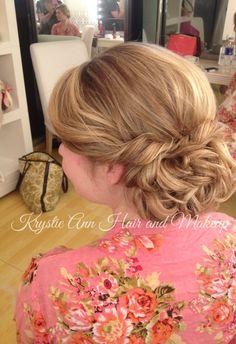 Hair: www.krystieann.com  wedding hair, bridal hair, wedding updo, bridal updo, blonde updo, bridesmaid updo, beach wedding hair, punta cana wedding, jellyfish wedding, jellyfish punta cana