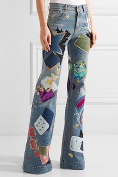 Women Jeans Petite - CLICK Visit link above for more options Diy Jeans, Women's Jeans, Khaki Jeans, Cargo Jeans, Patched Jeans, Black Jeans, Patchwork Jeans, Jeans American Eagle, Jeans Petite