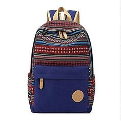 91ce8ef68093 Artone Tribal Stripes School Bag Stylish Casual Daypack With Laptop  Compartment Ebay Shopping
