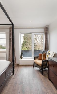 Master Bedroom Extension master bedroom | feature wall paper | forest illustration