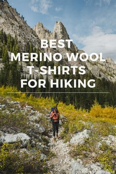 Wool isn't just for sweaters and base layers anymore! Merino wool is great for hiking t-shirts too: it's breathable, odor-resistant, moisture-wicking, and most of all, comfortable! Check out this round-up of the best merino wool t-shirts for hiking. Barefoot Boots, Synthetic Clothes, Mens Baseball Tee, Thru Hiking, Hiking Shirts, Outdoor Fun, Merino Wool, Hiking Outfits, Sport Outfits