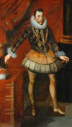 Juan Pantoja de la Cruz (1553-1608) —  The Archduke Albert of Austria (1559-1621), Governor of The Netherlands  (391x685)