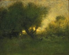 George Inness - love him....carried him in the gallery I worked in.....oh, the days