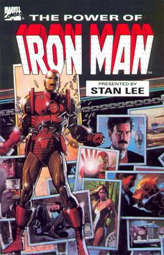 Bill Sienkiewicz 1984: The Power of Iron Man trade paperback cover