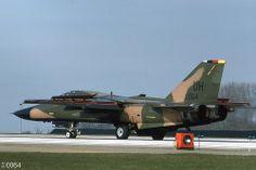 20th TFW  General Dynamics F-111E 68-0064