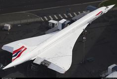 British Airways Aérospatiale/British Aircraft Corporation Concorde G-BOAG 214 Seattle Boeing Field/King County - KBFI