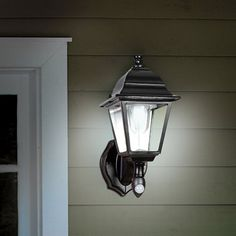 The Cordless Motion Activated Outdoor Sconce