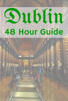We had 48 hours in Dublin, Ireland to see everything, no that is not enough time. If you find yourself in a pinch for time like we did this guide is for you. Our how to make the most with 48 hours in an amazing city.