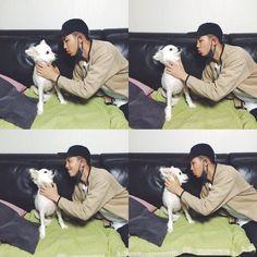 RM & his dog