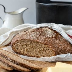 Pataruisleipä | Maku Finnish Recipes, Bread Baking, Bread Recipes, Banana Bread, Smoothies, Bakery, Food And Drink, Rolls, Desserts