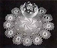 Doily No. 7272 from Free Vintage Crochet