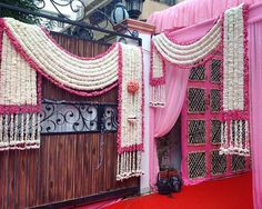 When you're looking for flower decorators in Hyderabad or Wedding Stage Decoration, choose the best professionals. Mars Event Planner would help make your perfect celebration happen in a unique and luxurious style. Wedding Hall Decorations, Marriage Decoration, Wedding Entrance, Wedding Mandap, Entrance Decor, Festival Decorations, Gate Decoration, Wedding Venues, Flowers Decoration