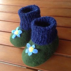 Urselifelts — Felted baby shoes