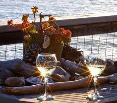 Perfect combination. Wine and sunshine!