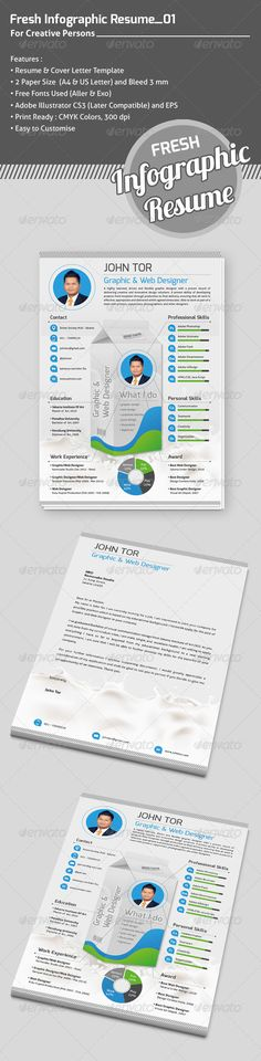Infographic Resume Template for Graphic , Infographic Resume - infographic resume builder