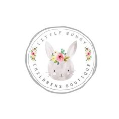 Kids Store, Toy Store, Childrens Logo, Logo Boutique, Bunny Logo, Photographer Logo, Floral Logo, Clothing Logo, Kids Logo