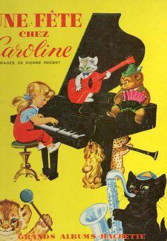 Les aventures de Caroline, illustrées par Pierre Probst