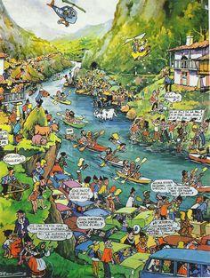 Fiesta de Las Piraguas, cartel de Alfonso