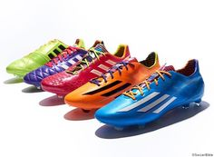 Adidas made great shoes for the World Cup and I'm excited to see who will win in Brasil!