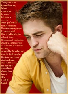 MORE ROBERT PATTINSON WALLPAPERS, WITH QUOTES! – TwiFans-Twilight Saga books and Movie Fansite