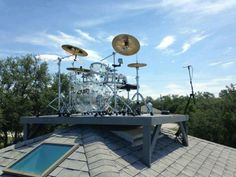 Best place for a drum set