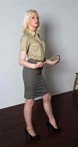 I'm going to enjoy caning your bare bottom! You will learn to obey me! Skirt Tumblr, Strict Wives, Satin Pleated Skirt, Tight Pencil Skirt, Girl Spanked, Erotic Photography, Lady, Business Women, Dresses For Work