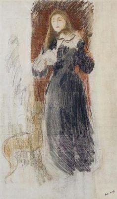 The Violin - Berthe Morisot, 1893