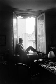 Albert Camus (1913-1960) by Loomis Dean - Provence's favourite writer of all time. He lies buried in Lourmarin.