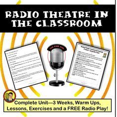 My most popular product! This THREE WEEK unit suitable for middle and high school drama classes or gifted classes includes Teaching Activities, Teaching Reading, Classroom Activities, Teaching Ideas, Learning, High School Drama, High School Classroom, Reading Resources, Teacher Resources