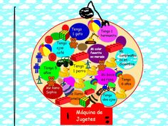 """Teaching idea to describe self in Foreign Language """"Pieces of Me"""" project. Piezas de mi. Done in Pixie 3"""