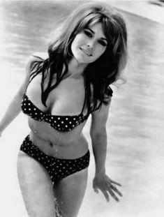 polkadot bikini 70's