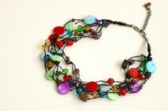 Premier Designs Spectrum necklace...love it!
