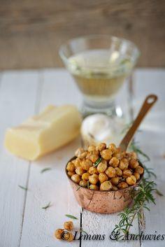 Rosemary-Parmesan Roasted Chickpeas