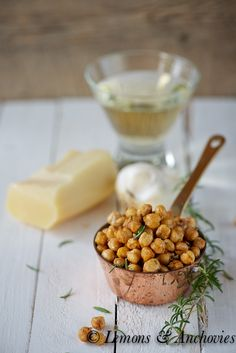 Rosemary-Parmesan Roasted Chickpeas | Lemons and Anchovies