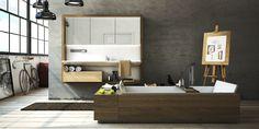 Kolekce FRAME přetváří prostředí koupelny ve výstavní galerii. Funkční objekt jako ohraničené dílo v jasně definovaném prostoru  nabízí svobodu v tvorbě originálního obrazu plně vyhovujícího individuálním potřebám. Design: Boris Klimek & Jan Štefl