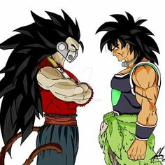 Broly vs Kanba dragon ball (c) akira toriyama and his associates. edit - check out HalusaTwin music using my pictures as. First vs new legendary Dragon Ball Gt, Dragon Ball Image, Dbz, Akira, Broly Super Saiyan, Foto Do Goku, League Of Angels, Manga Pictures, Anime Characters