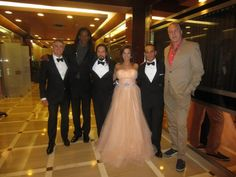 """""""Milwood"""" Cannes 2013. World Premiere. Actors Keith Balderston, William Romeo, Jeremy Kovach, Said Faraj with Actress Producer Michelle Romano, and Producer Roy Martens http://www.movpins.com/dHQyMTgxNzc4/milwood-(2013)/still-1476255488"""