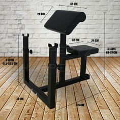 Commercial Gym Fitness Preacher Curl Bench Weights Dumbbell Bicep V Diy Gym Equipment, Homemade Gym Equipment, No Equipment Workout, Commercial Gym Equipment, Home Made Gym, Diy Home Gym, Weights Dumbbells, Preacher Curls, Gym Machines