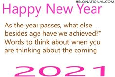Find out the best new year quotes form out platform, click on the image and check out amazing and uqiue new year 2021 quotes for your family and love ones New Year Wishes Quotes, Happy New Year Wishes, Year Quotes, Quotes About New Year, Wish Quotes, Be Yourself Quotes, Good News, First Love, Platform
