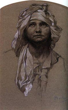 Salome - Alphonse Mucha - WikiPaintings.org