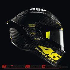 Rossi's AGV project pista helmet