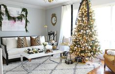 Blogger Stylin' Home Tours Christmas 2015 - B @ H