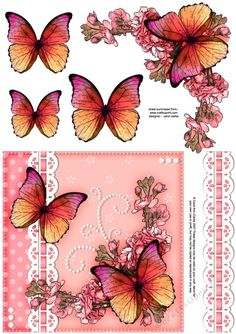 A pretty Floral Elegance ready to use quick card front with 3d step by step…