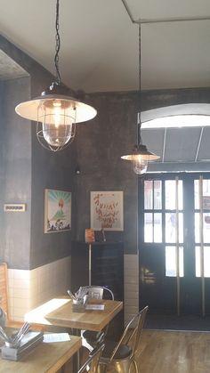 Shop powered by PrestaShop Burger Bar, Industrial Design, Ceiling Lights, Projects, Home Decor, Log Projects, Blue Prints, Decoration Home, Industrial By Design