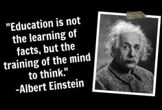 Critical thinking is far more valuable than memorized facts.