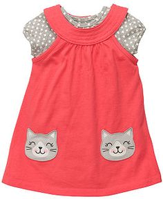 Carter's kitty dress...love