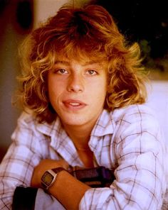 Leif......teen idol.....not so smart, but dang he was good lookin' back in the day!