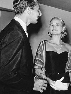 Grace Kelly and Oleg Cassini